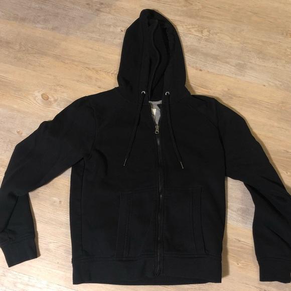 Champion Tops - Women's black zip up hoodie